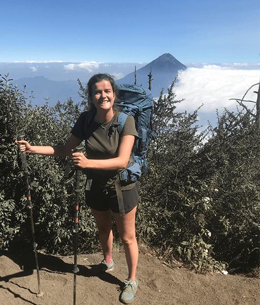 Vulkanen Guatemala Acatenango