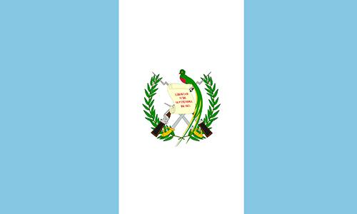 Vlag Guatemala Vakantie