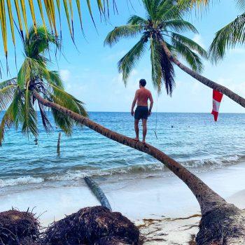 Overnacht op een onbewoond eiland van Belize