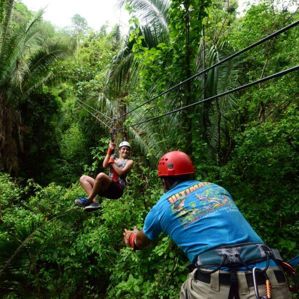 Rondreis Belize Bocawina Zipline