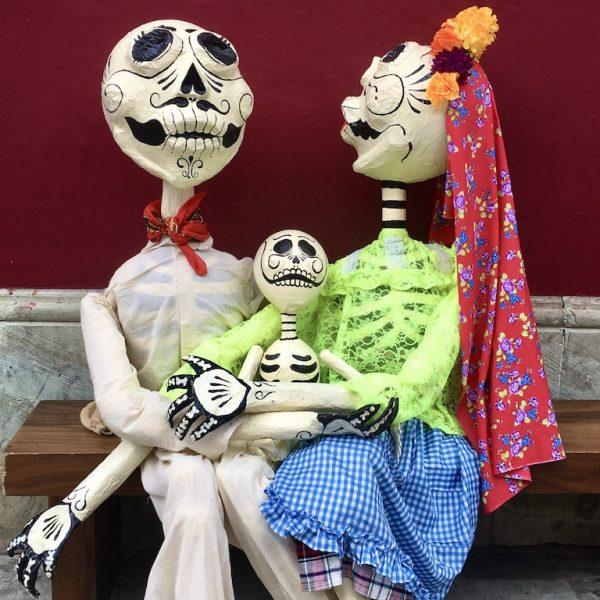 Bewonder skeletten met Dia de los Muertos in Oaxaca