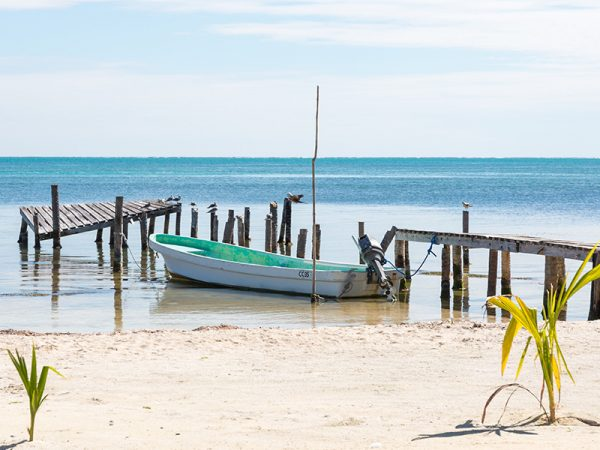 Belize-CayeCaulker-Strand