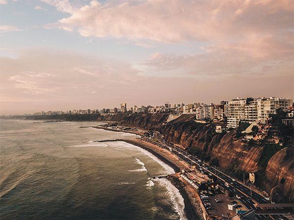 Lima Hoofdstad Peru Veiligheid