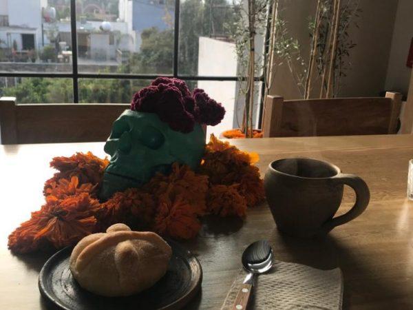 proef Pan de Muerto tijdens Dia de los Muertos in Oaxaca