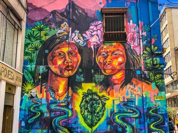 Rondreis Colombia Bogota Grafitti Tour