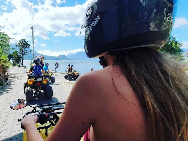 Rondreis Guatemala Lake Atitlan Quad rijden