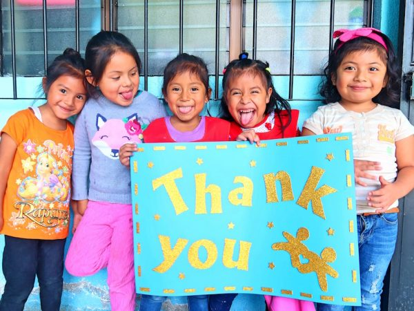 Doneer tijdens Black Friday bij Ninos de Guatemala