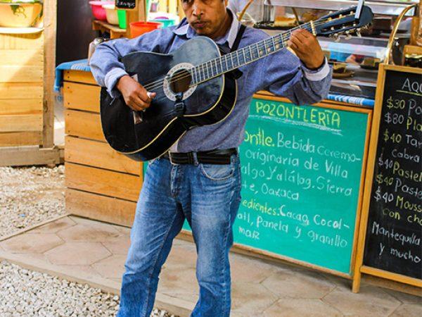 Straatmuzikanten-Mexico-Oaxaca