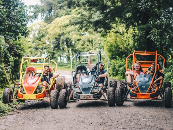 Buggy tour door El Salvador