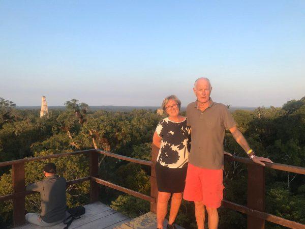 Prachtig uitzicht tijdens je tour door Tikal
