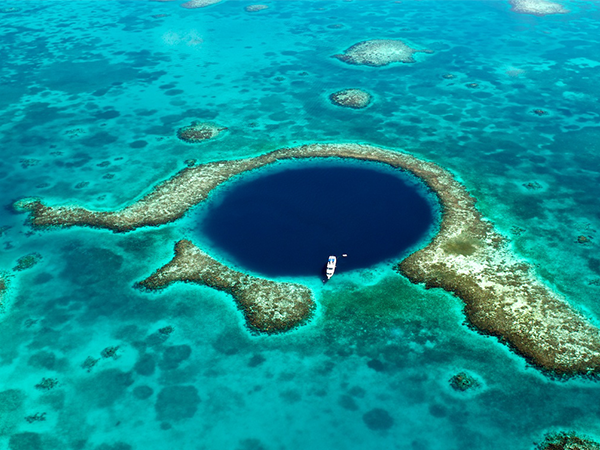 rondreis belize blue hole